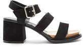 Tod's Suede block-heel sandals