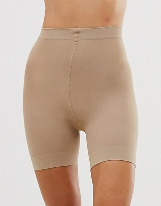 Pretty Polly sheer anti chafing cooling short in beige