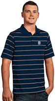 Antigua Men's Detroit Tigers Deluxe Striped Desert Dry Xtra-Lite Performance Polo