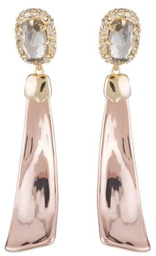 Alexis Bittar Crystal Detail Drop Earrings