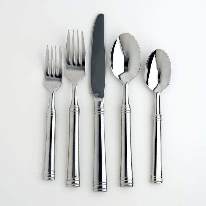 Cambridge Silversmiths Tuscany 20-Piece Flatware Set