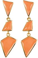Kenneth Jay Lane Geometric Dangle Earrings