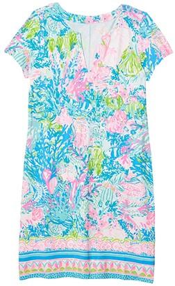 Lilly Pulitzer UPF 50+ Sophiletta Dress (Multi Fished My Wish Engineered) Women's Dress