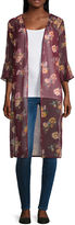 Almost Famous Long Sleeve Floral Kimono Juniors