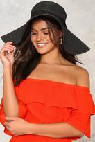 Nasty Gal nastygal The Last Straw Floppy Hat