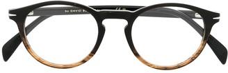 David Beckham Round Frame Glasses