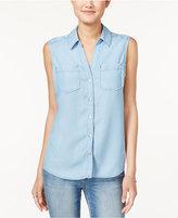Maison Jules Sleeveless Shirt, Only at Macy's
