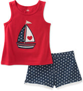 Kids Headquarters 2-Pc. Graphic-Print Tank Top and Shorts Set, Toddler and Little Girls (2T-6X)