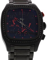 David Yurman Belmont Shadow Chronograph Black Diamonds Mens Watch