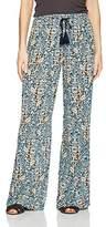 Volcom Women's Sun Spell Wide Leg Smocked Waist Beach Pant