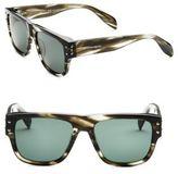 Alexander McQueen 57MM Wayfarer Sunglasses