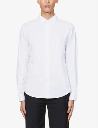 Paige Benton regular-fit cotton-blend shirt