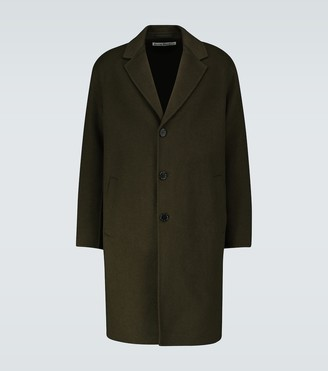 Acne Studios Dali wool twill overcoat