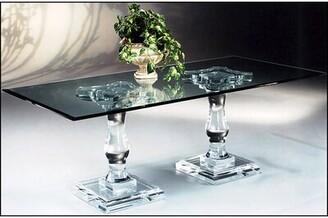 Canora Grey Tesoro Double Pedestal Dining Table Canora Grey