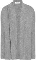 Velvet by Graham & Spencer Paneled Stretch-Knit Cardigan
