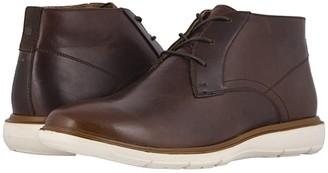 Florsheim Ignight Plain Toe Chukka Boot (Brown Pull Up) Men's Shoes