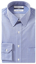 Daniel Cremieux Non-Iron Slim-Fit Point-Collar Stripe Dress Shirt