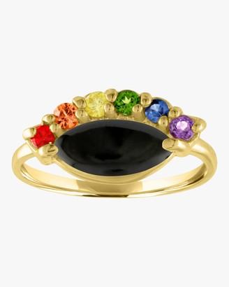 Eden Presley Rainbow Eye Pinkie Ring