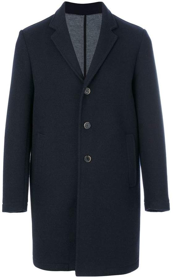 MSGM contrast button coat