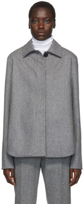 Jil Sander Grey Boxy Shirt