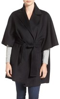 Diane von Furstenberg Belted Wool Blend Cape Coat