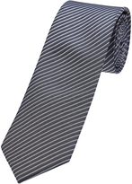 Oxford Silk Tie Pinstripes