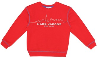 Marc Jacobs Logo cotton blend sweater