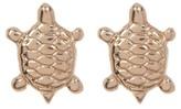 Candela 14K Yellow Gold Turtle Stud Earrings