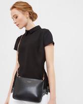 Ted Baker Crosshatch leather cross body bag