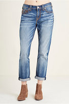 True Religion Audrey Slim Boyfriend Super T Womens Jean