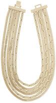 BCBGMAXAZRIA Multi-Layered Mesh-Chain Necklace