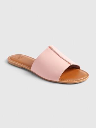 Gap Leather Slides