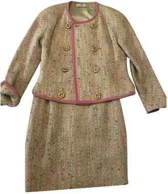 Balenciaga Pink Tweed Jackets