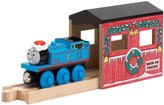 Learning Curve Thomas & Friends Wooden Railway - Holiday Tunnel with Exclusive Christmas Thomas