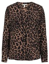 Joie Joiane Animal Print Top in Old Oak