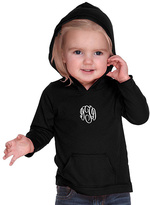 Princess Linens Black Monogram Hoodie - Infant, Toddler & Girls