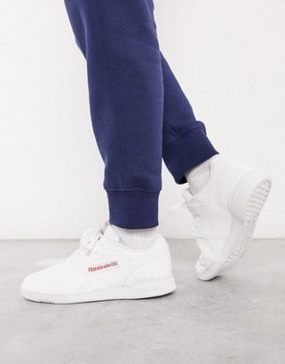 Reebok Classics Workout Plus trainer in white