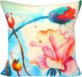 Hamam Royal Monet-Esque Budding Flowers Cushion Cover, Small