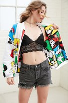 Urban Outfitters Mickey + Minnie Reversible Zip Jacket