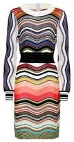Missoni Striped wool-blend dress