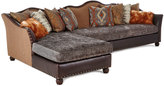 Massoud Brenda Right-Chaise Sectional Sofa