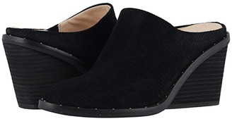 Dr. Scholl's Maxwell - Original Collection (Black Linear Embossed Suede) Women's Shoes