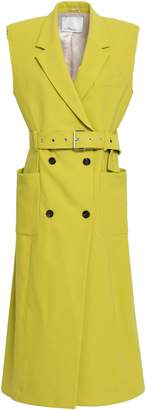 3.1 Phillip Lim Double-breasted Cotton-blend Crepe Gilet