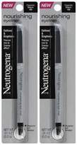 Neutrogena Cosmetics Nourishing Eye Liner - Cosmic Black 10 - 2 pk by Cosmetics