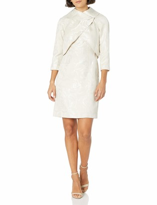 Tahari ASL Women's Wrap Jacket and Dress Suit