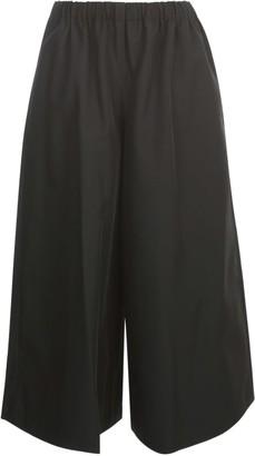 Comme des Garçons Comme des Garçons Polyester Gabardine Pants Elastic Waist