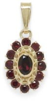 Tatitoto Gioie Women's Pendant in 18k Gold with Garnet, 3.4 Grams