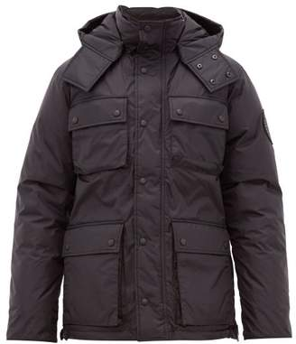 Junya Watanabe X Canada Goose Quilted Down Jacket - Mens - Black