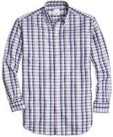 Brooks Brothers Golden Fleece Madison Fit Plaid Sport Shirt