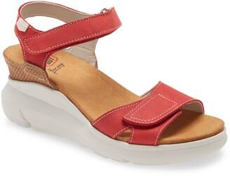 On Foot Java Platform Wedge Sandal